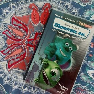 Disney's monsters inc special vhs